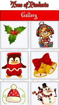 Christmas Color by Number Sandbox Pixelart Pages screenshot 5