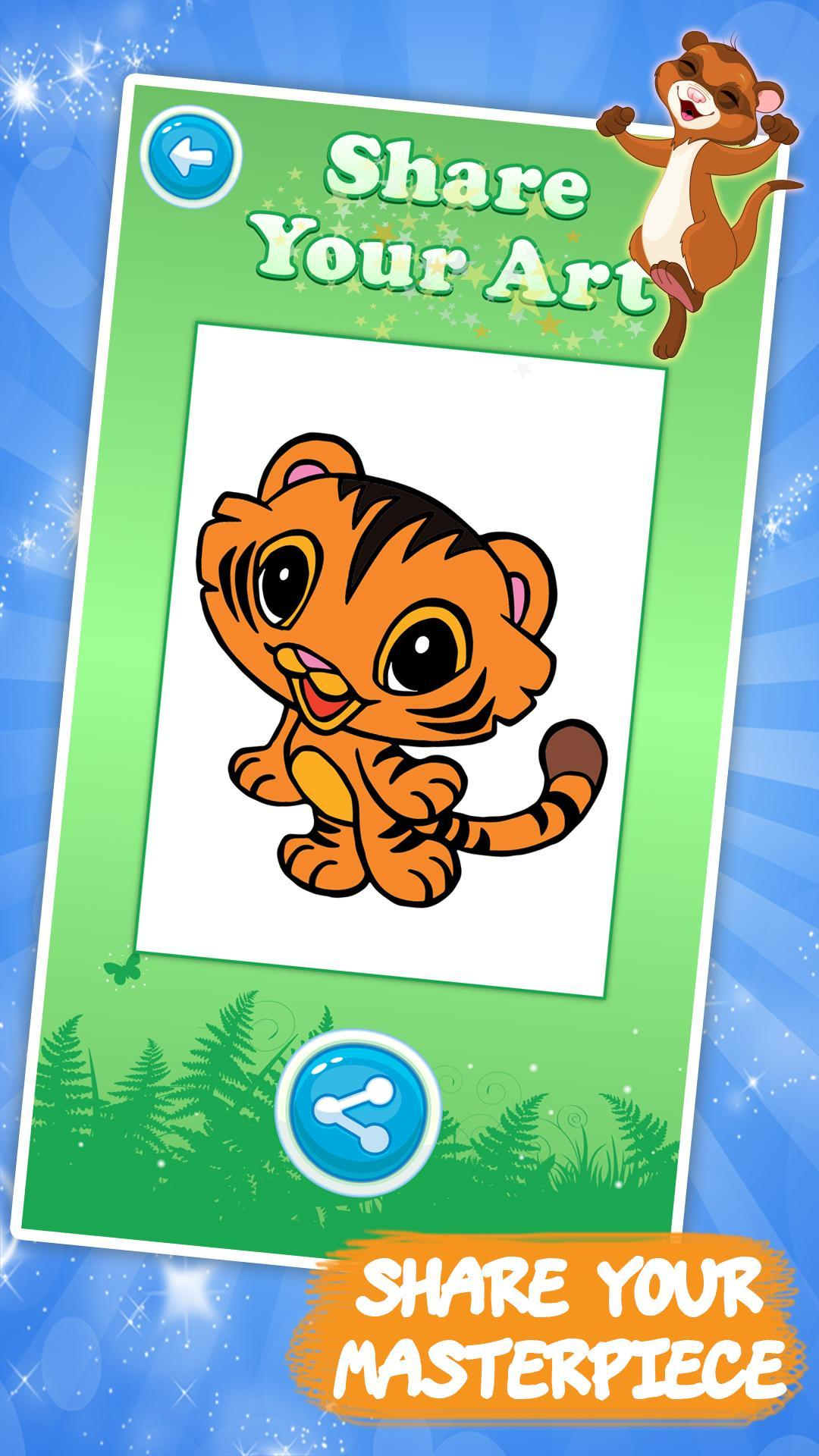 Coloring games for kids animal for Android - APK Download