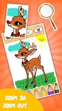 Coloring games for kids animal screenshot 6