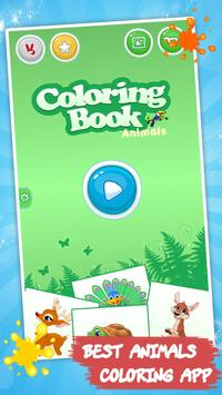 Tiere malen: Kinderspiele Screenshot 3