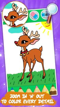塗り絵 子供のための動物 スクリーンショット 2
