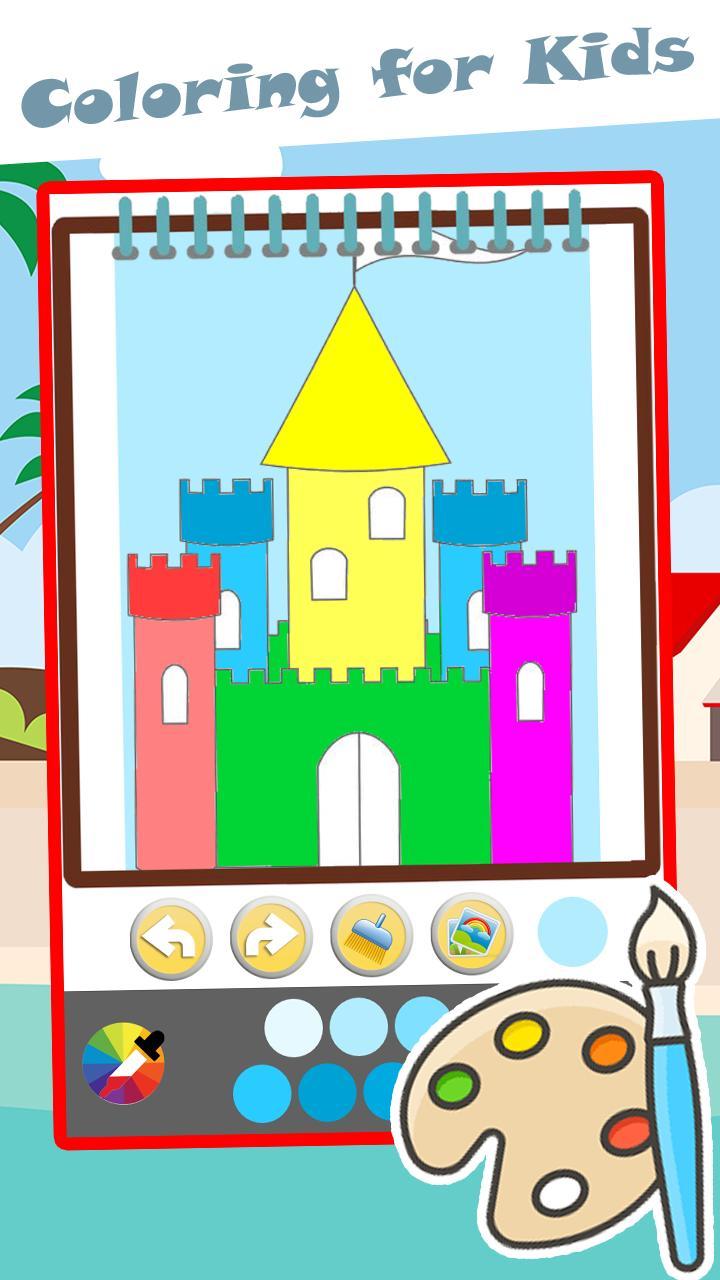 Halaman Mewarnai Dan Istana For Android APK Download