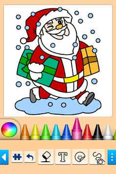 Christmas Coloring poster