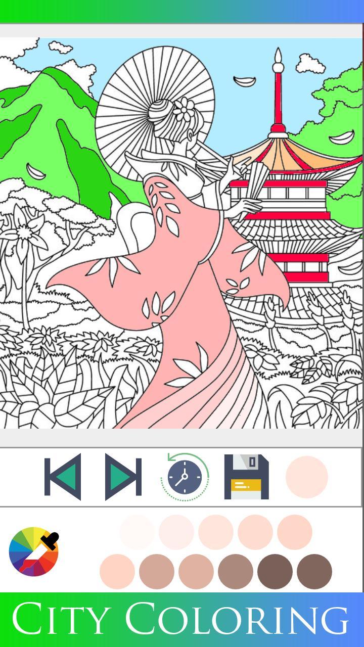 Buku Mewarnai Kota For Android APK Download