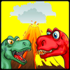 Dino Games Cartoon Coloring icon