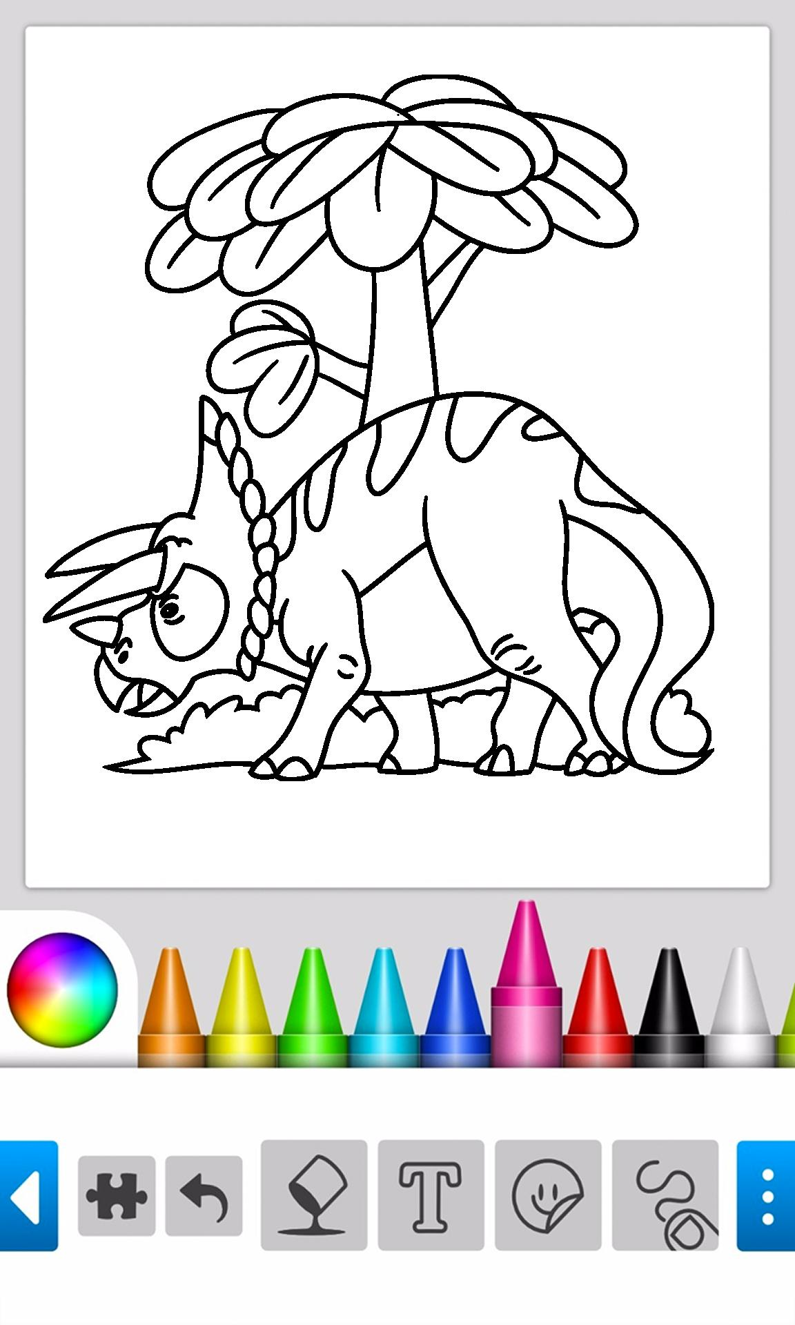 Permainan Warna Dinosaurus For Android APK Download