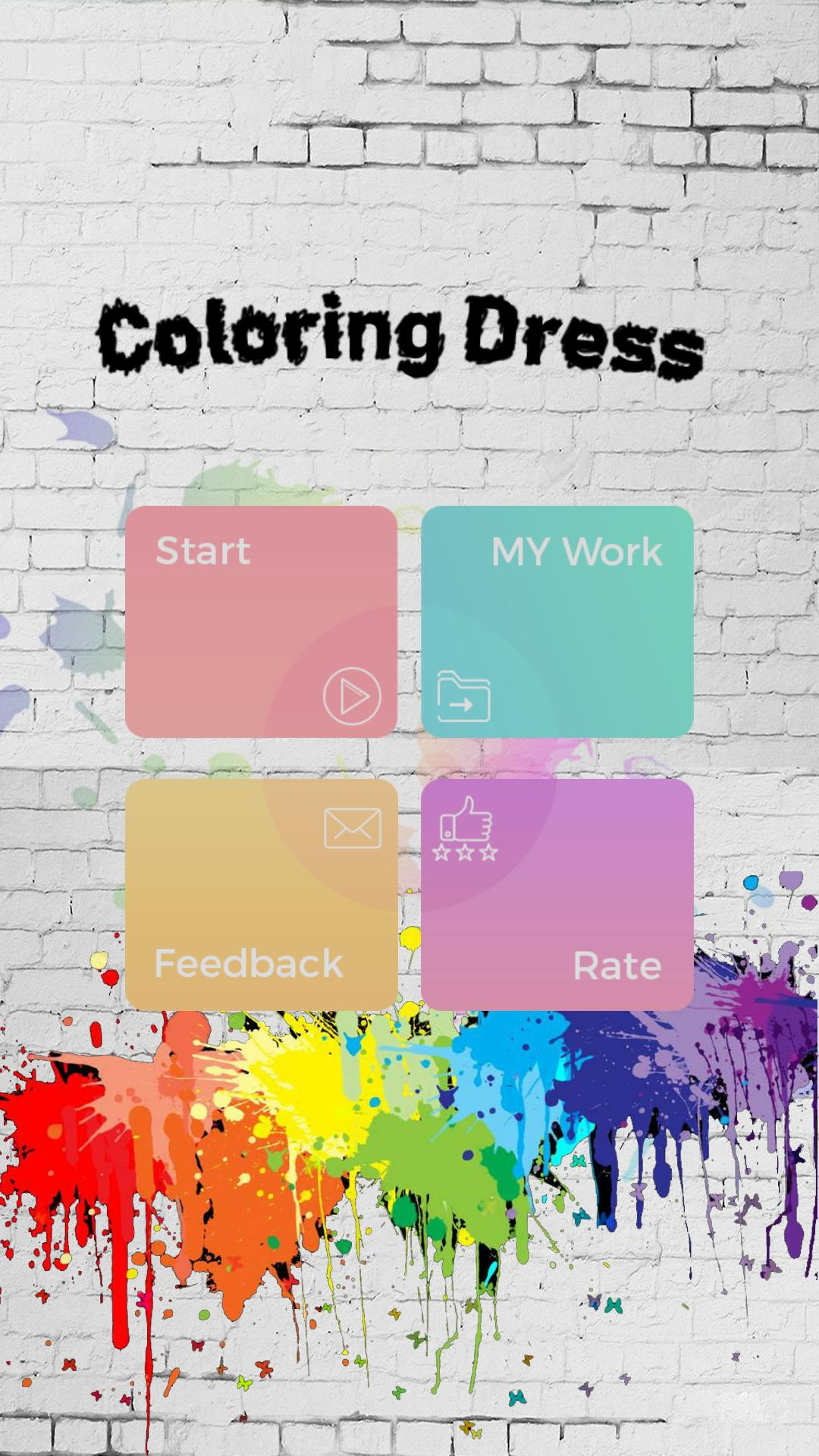 Glitter Dress Coloring Bok For Android Apk Download