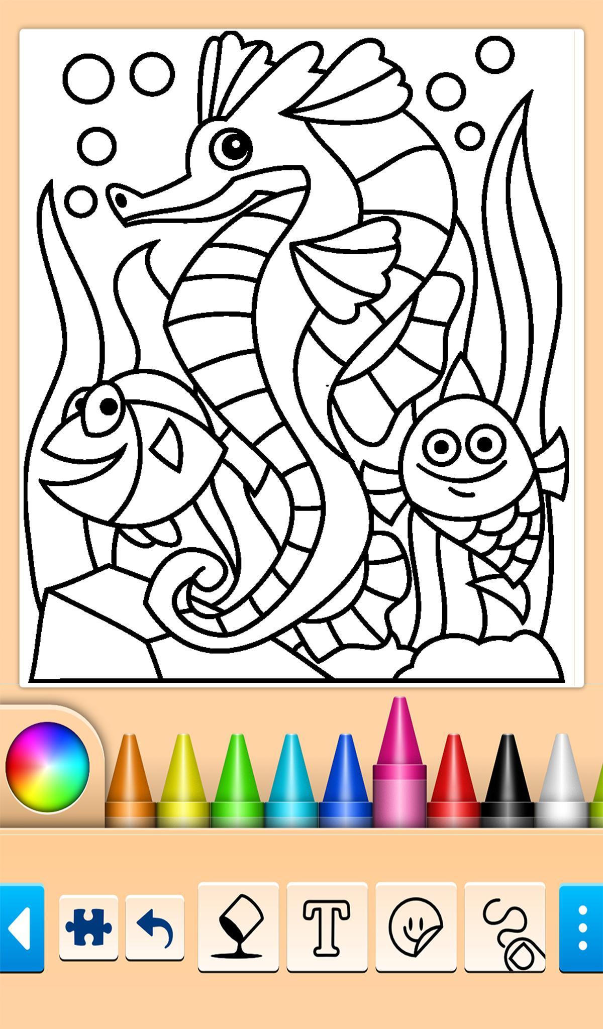 Buku Mewarnai Ikan Dan Lumba Lumba For Android APK Download