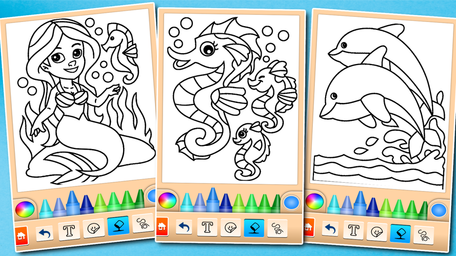 dolphin and fish coloring book apk 1620 download for