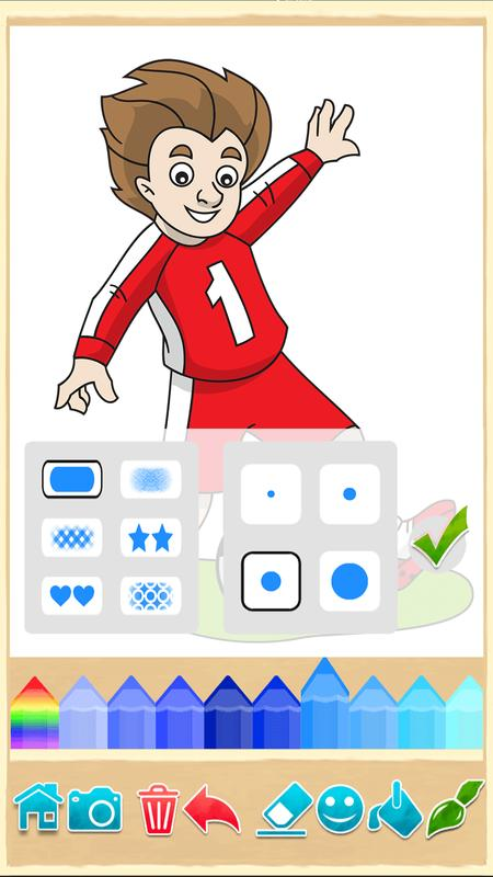 Football coloring book game for Android - APK Download