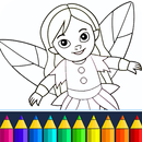 Coloring game for girls and women APK