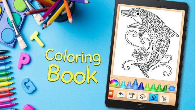 Coloring game for girls and women screenshot 4