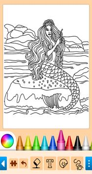 Coloring game for girls and women screenshot 8