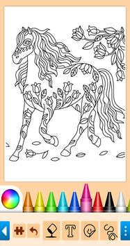 Coloring game for girls and women screenshot 1