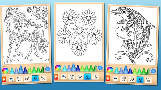 Coloring game for girls and women screenshot 20