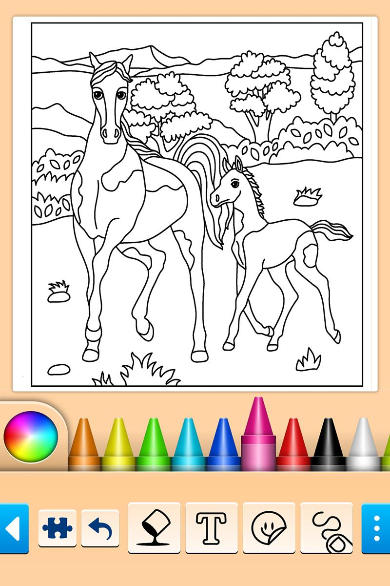 Girls games: Painting and coloring for Android - APK Download