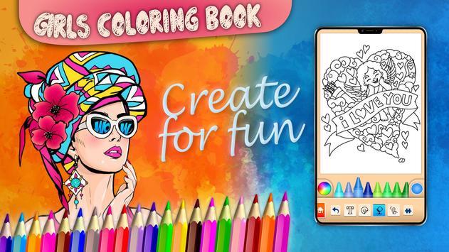 Girls games: Painting and coloring screenshot 15