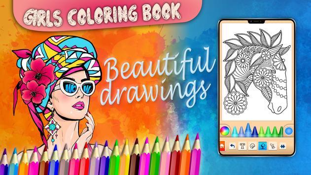 Girls games: Painting and coloring screenshot 22