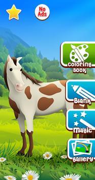 Horse Coloring Book screenshot 7