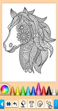 Horse Coloring Book poster