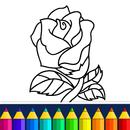 Valentines love coloring book APK