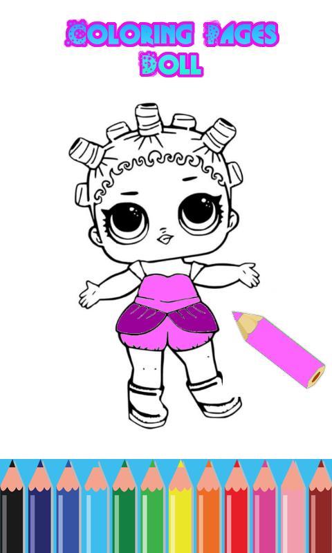 Dibujos Para Colorear Lol Muñecas Sorpresa For Android Apk Download