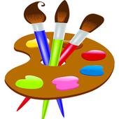 Malowanie i rysowanie ikona