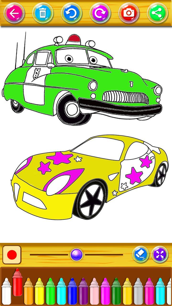 Mewarnai Mobil Balap Super For Android Apk Download