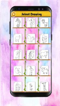 Animals Coloring Book for kids screenshot 1