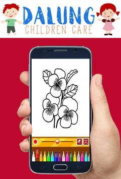 Flowers Coloring Book - Easy Pictures screenshot 2