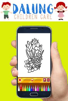 Flowers Coloring Book - Easy Pictures screenshot 4