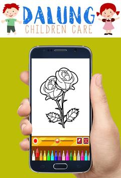 Flowers Coloring Book - Easy Pictures screenshot 5