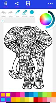 Free Coloring Book - Coloring Game for Adults screenshot 3
