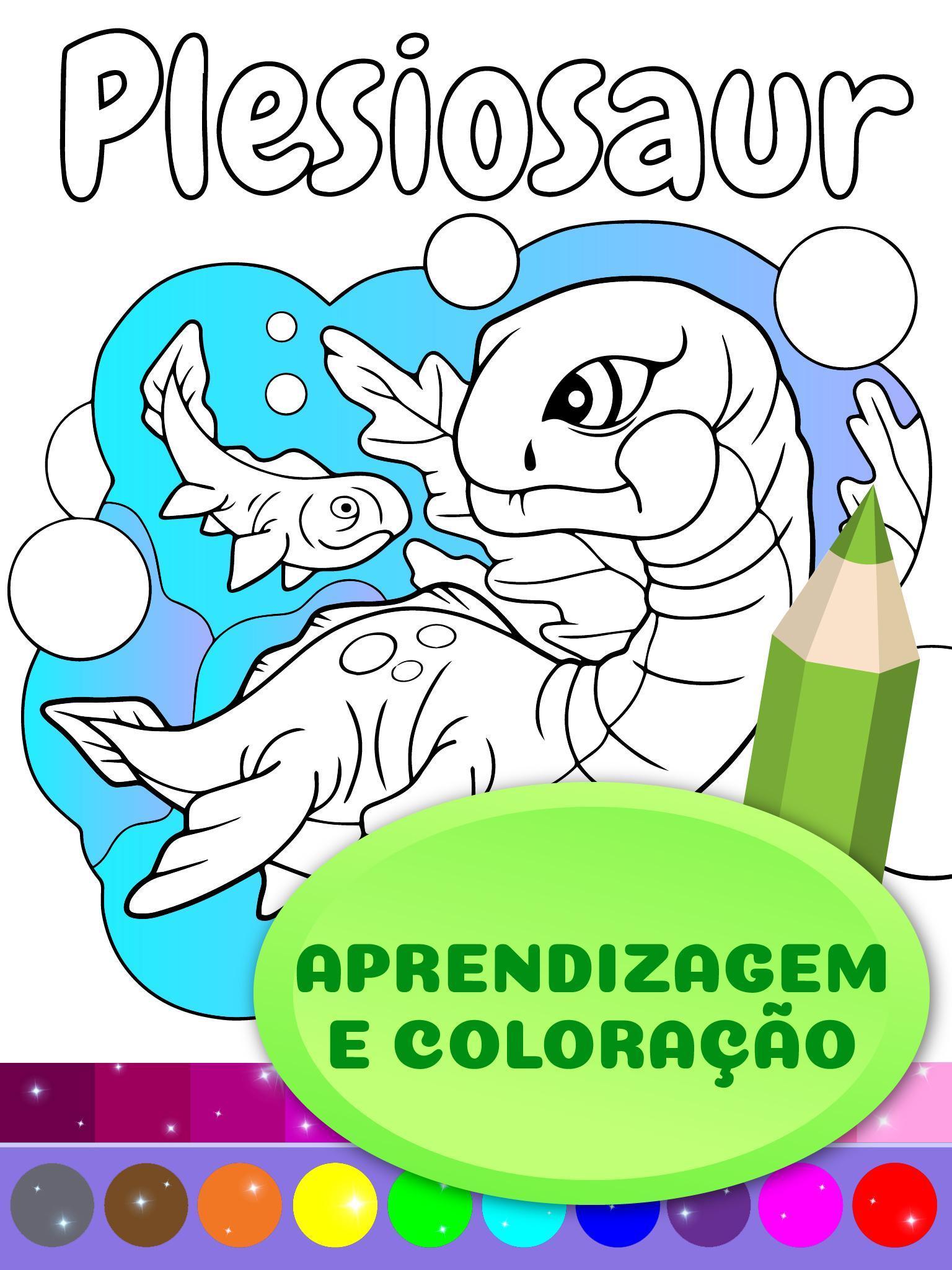 Desenho Animado Dinossauro Para Colorir Para Android Apk Baixar