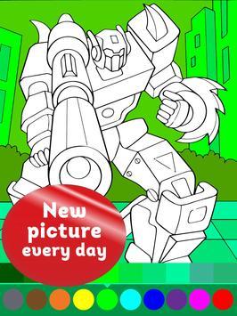 Animated Robots Coloring Book for Boys für Android - APK herunterladen