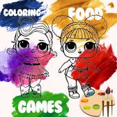 Coloring Doll Book Surprise icon