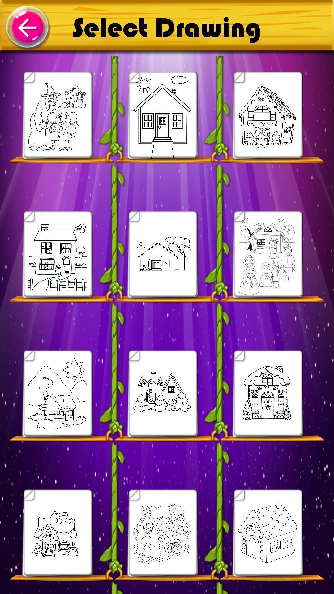 Mewarnai Rumah Permen Putri For Android Apk Download