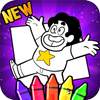 ikon Steven universe coloring game