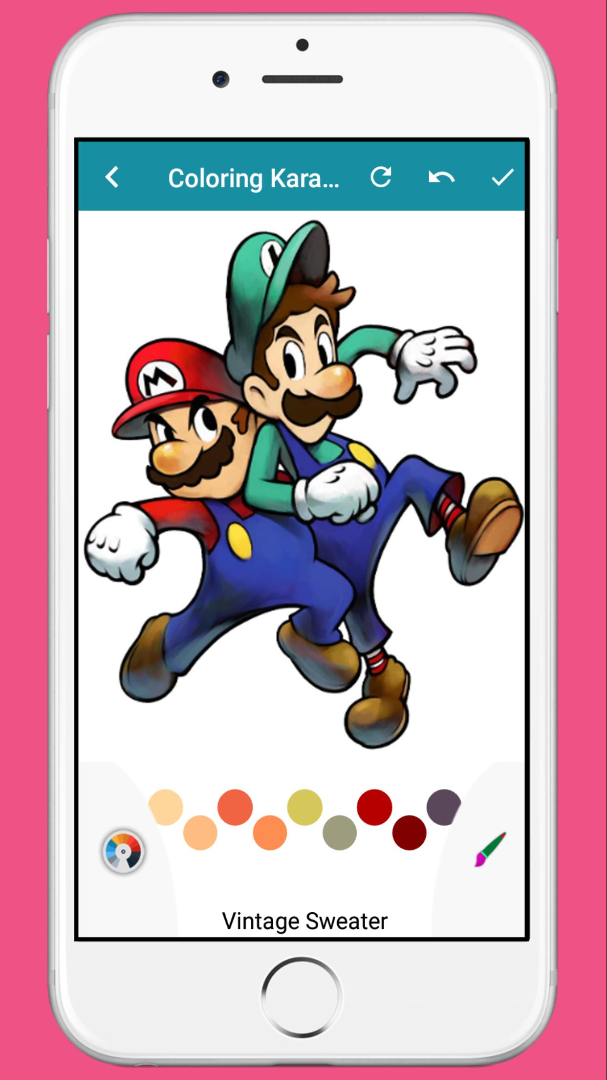 Coloring Book For Luigi For Android Apk Download