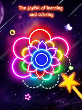 Learn To Draw Glow Flower تصوير الشاشة 8