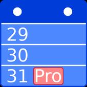 Calendar Pro - Agenda icon