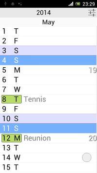 Calendar Pro screenshot 3