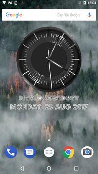 Classic Black Clock Widget screenshot 17