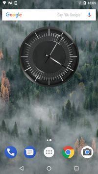 Classic Black Clock Widget screenshot 11