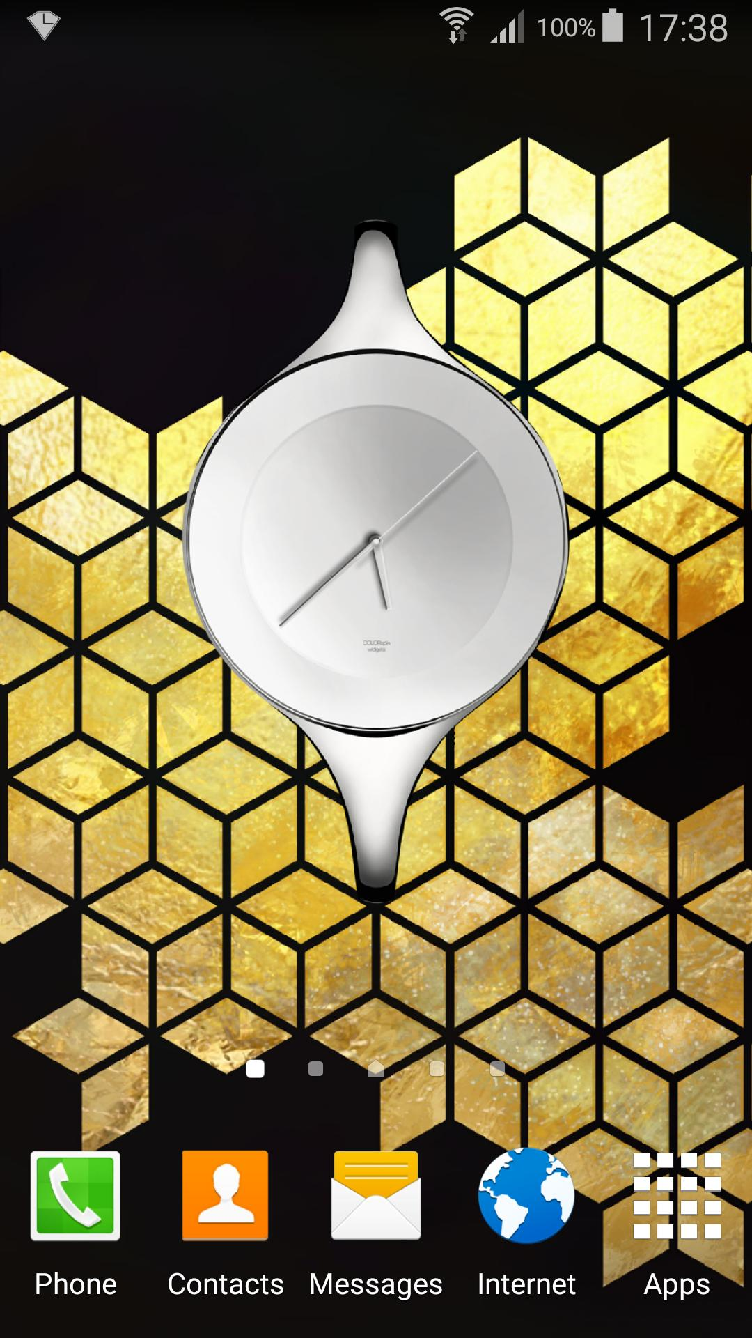 Crystal Clock Widget for Android - APK Download