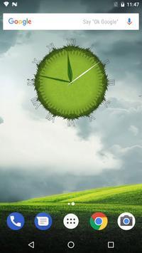 3D Cool Grass Clock Widget screenshot 13