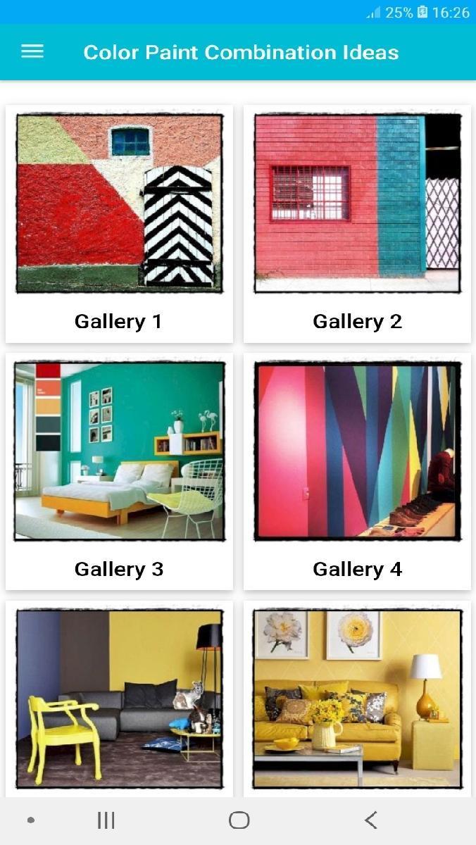 880 Paint Color Combination Ideas For Home Room Pour Android Telechargez L Apk