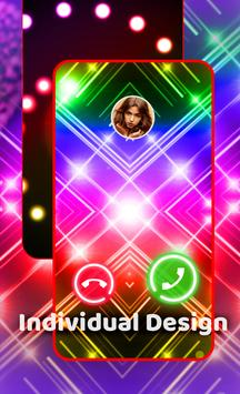 Экран Вызова - Цветной мигающий телефон, рингтоны скриншот 3