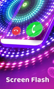 Экран Вызова - Цветной мигающий телефон, рингтоны скриншот 1