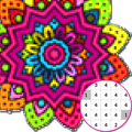 Mandala Coloring By Number:PixelArtColor